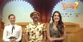 Michelle Jenner, José Corbacho y Adriana Ugarte: