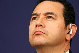 La Fiscalía de Guatemala y la CICIG solicitan retirar la inmunidad al presidente Morales