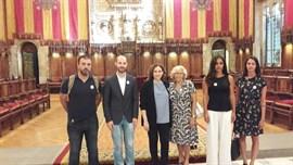 Cifuentes, Carmena y representantes de todos los partidos se unen al grito del 'No tinc por' en Barcelona