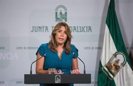 Susana Díaz urge a cambiar la ley para que los maltratadores pierdan la custodia tras el caso de Juana Rivas