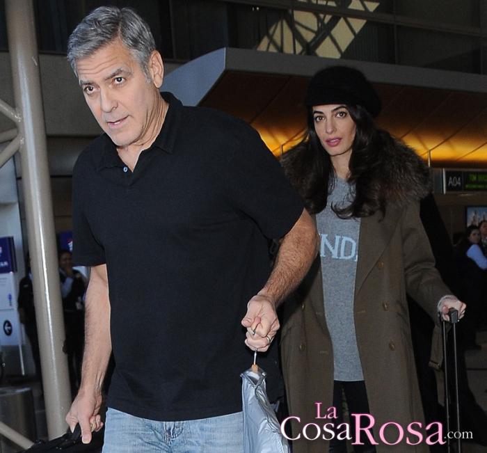George Clooney comenta cómo está llevando la paternidad