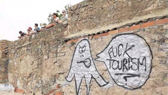 «Fuck tourism»