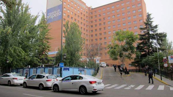 El hospital de Vallalodid donde examinaron a la niña