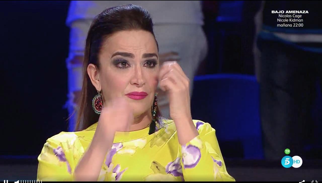 La actuación de Lupy ha logrado emocionar a Cristina