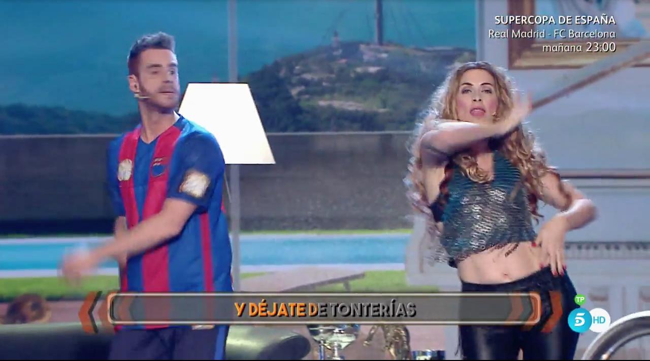 Roser se ha estrenado con la imitación de Shakira