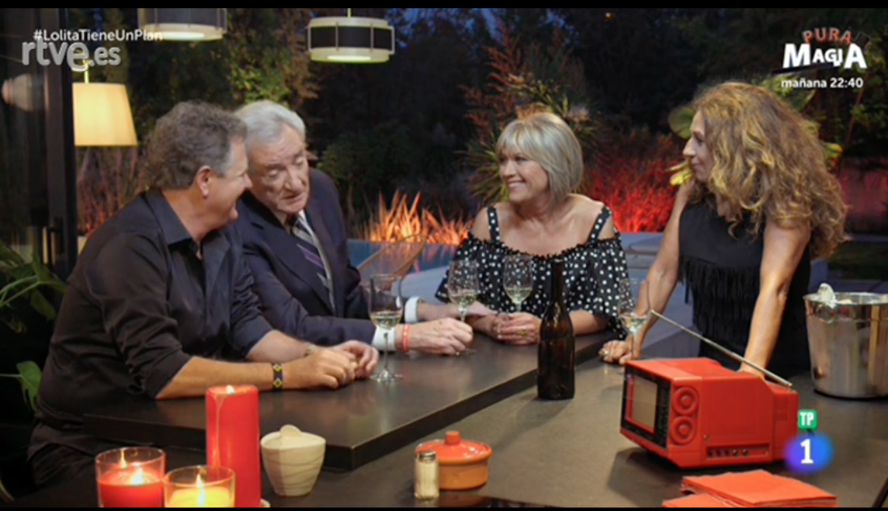 Juan Luis Cano, Luis del Olmo y Julia Otero, invitados de esta noche en 'Lolita tiene un plan'