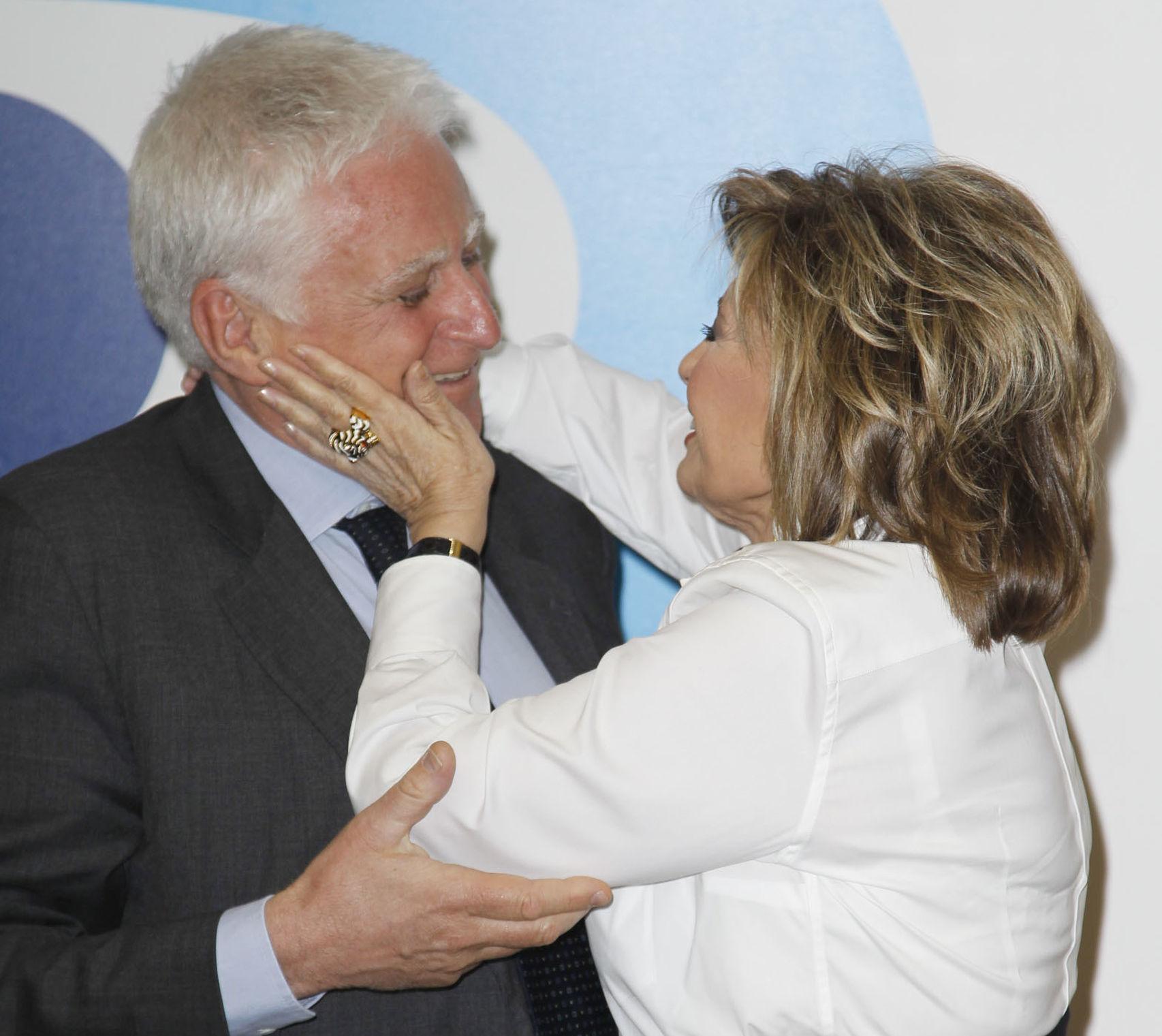 Paolo Vasile y María Teresa Campos