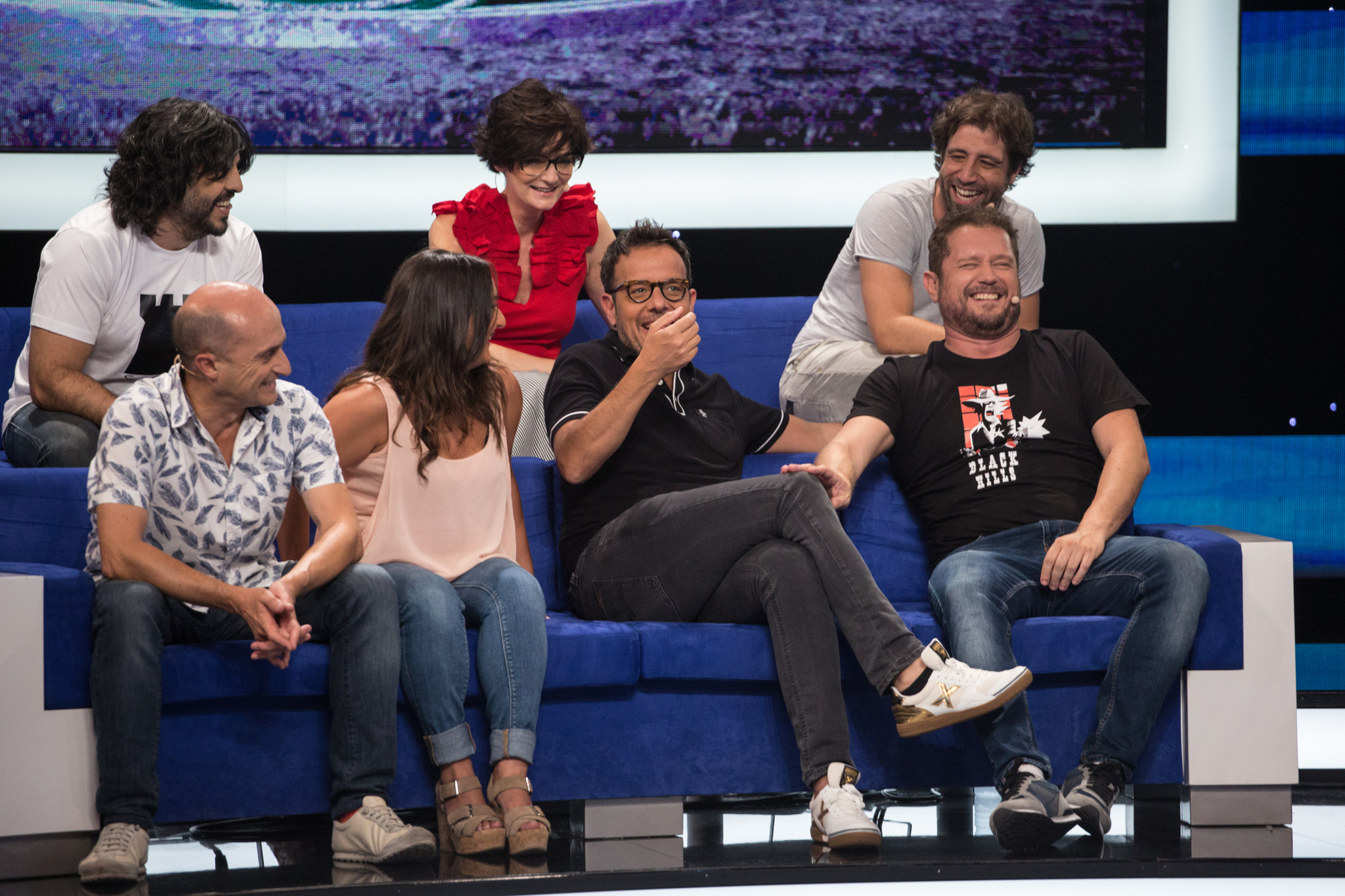 Entrega de 'Me resbala' con Ángel Llàcer, Leo Rivera y Olga Hueso