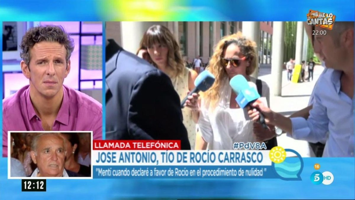 José Antonio, tío de Rocío Carrasco, le pide que retire la demanda