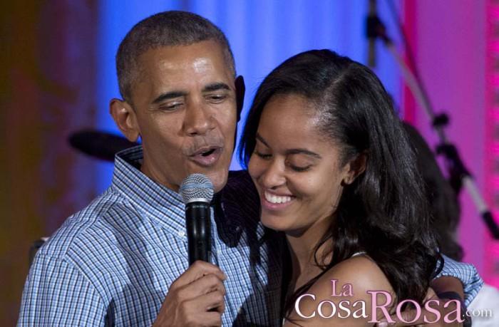 Malia Obama, se filtra una foto de la joven fumando marihuana en un festival de música