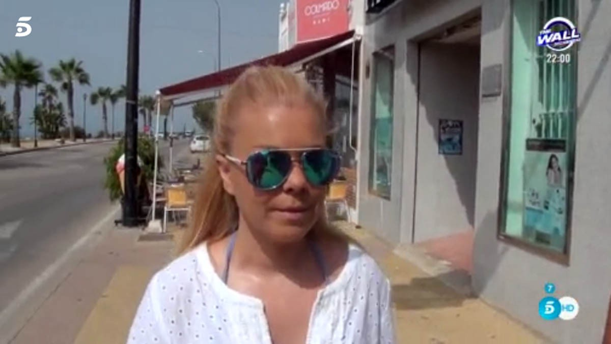 María José Campanario cambia de look y comenta su estado