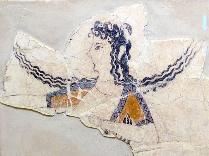 Muestra del arte de la civilización minoica.