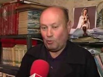 El párroco leonés Jesús Calvo
