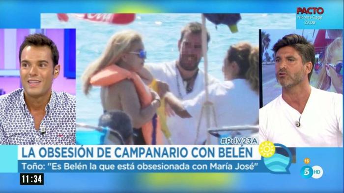 Toño Sanchís asegura que la obsesión de Belén Esteban con Campanario rozaba lo enfermizo