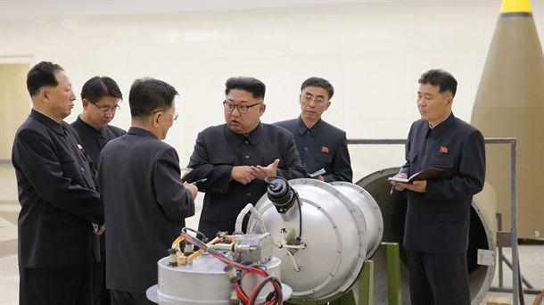 COREA NORTE Kim Jong EFE.