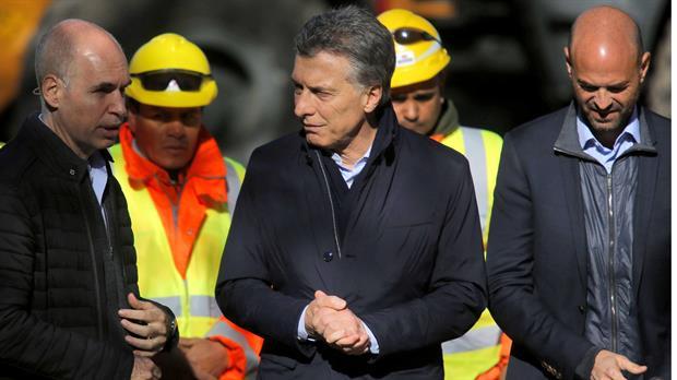 Macri junto a Rodríguez Larreta