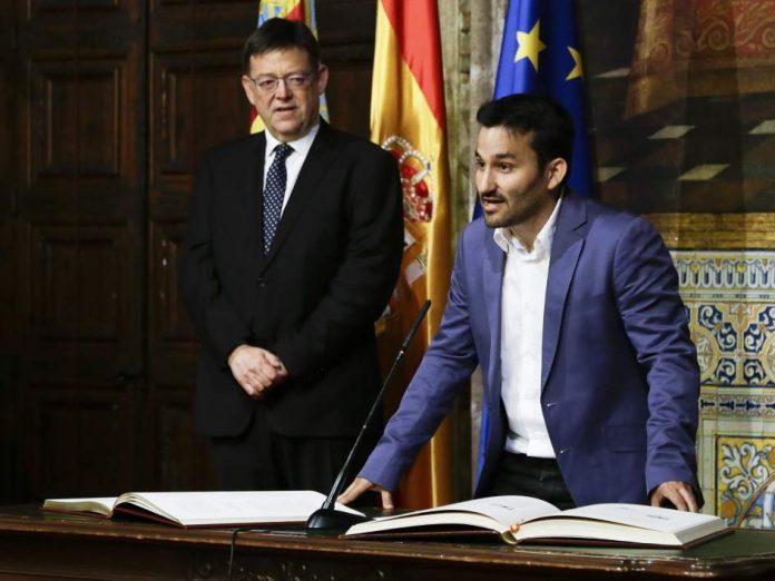El president Ximo Puig y el conseller Vicent Marzà