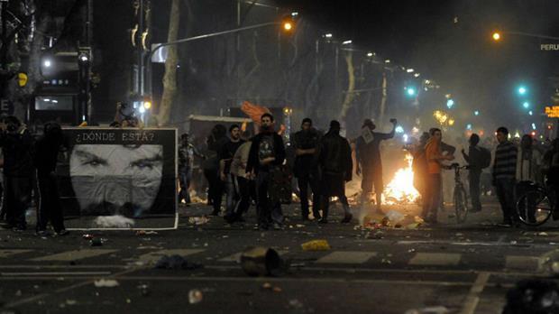 Cristina criticó el actuar de la policía de la Ciudad