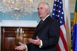 Tillerson promete que EEUU seguirá con sus esfuerzos para reducir emisiones contaminantes
