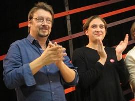 Ada Colau afirma que los 'comuns' seguirán trabajando para un referéndum