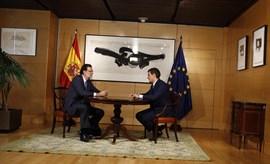 Rajoy escenifica su entendimiento con Rivera, el mismo día que Sánchez se ve con Iglesias