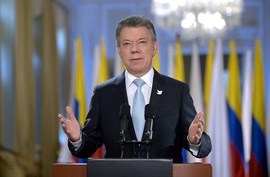 Santos promulga una nueva ley para combatir el crimen organizado, el narcotráfico y la corrupción en Colombia