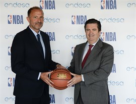 NBA y Endesa anuncian una nueva alianza multianual de marketing en España
