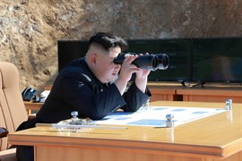 Corea del Norte lanza un misil balístico a aguas de Japón