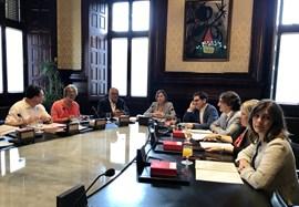La Mesa del Parlament de este martes tampoco prevé abordar la ley del referéndum