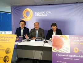 Sociedad Civil Catalana prepara actos ante la Diada y el 1-O y desea