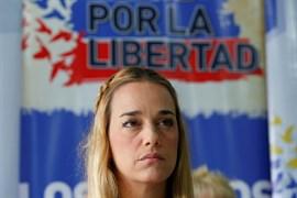 La mujer de Leopoldo López denuncia que ha sido imputada por el dinero en efectivo hallado en un coche suyo