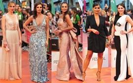 Los mejores looks de las chicas 'Velvet' en la alfombra roja de Vitoria