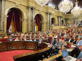 Claves de la ley del referéndum aprobada por el Parlament
