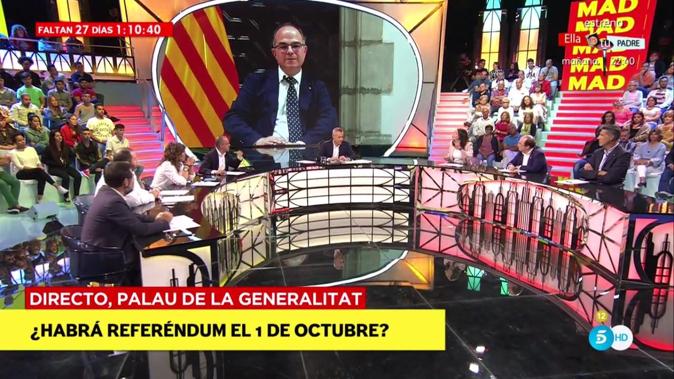 'Mad in Spain': Los políticos debaten en la mesa principal del programa