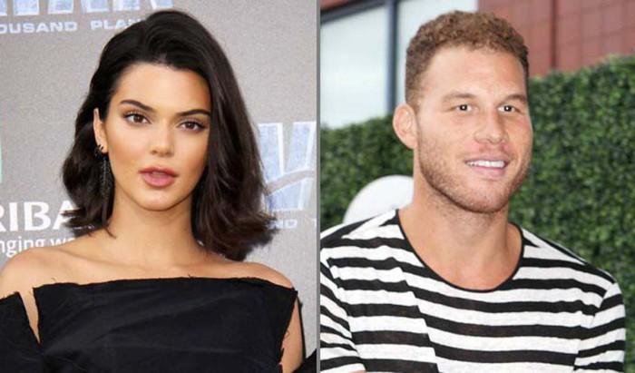 Kendall Jenner queda con el jugador de la NBA Blake Griffin