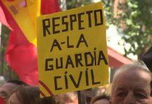 La Guardia Civil pide que no se difunda información