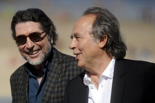 Joaquín Sabina y Joan Manuel Serrat