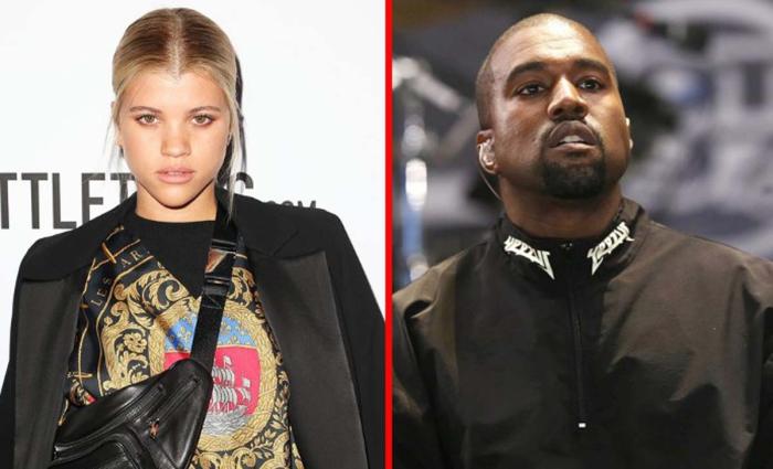 Sofia Richie sale a cenar con Kanye West tras quedar con Younes Bendjima