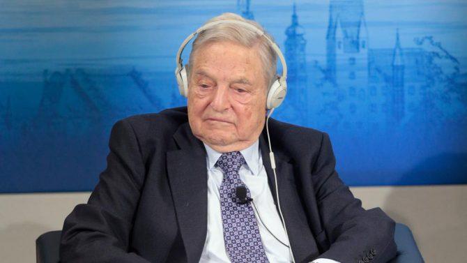 Imagen de archivo de una conferencia de George Soros