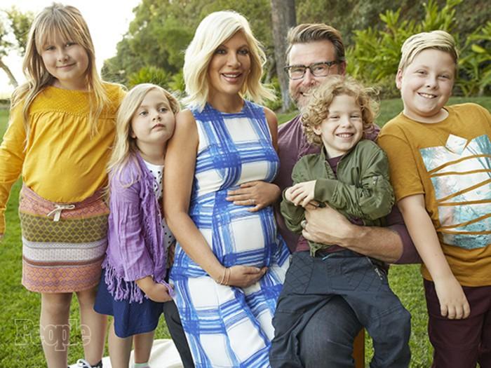 Tori Spelling y Dean McDermott esperan su quinto hijo en común
