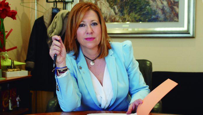 Montserrat Candini, alcaldesa de Calella