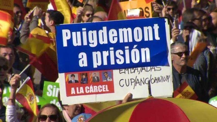 Resultado de imagen de puigdemont a prisión