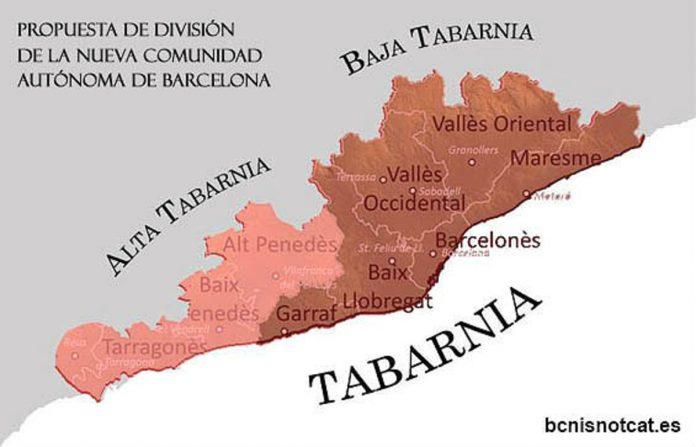 La nueva comunidad española: Tabarnia