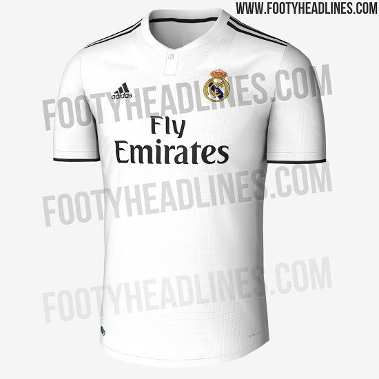 Así será la nueva camiseta del Real Madrid para la próxima temporada ... b8259867a67