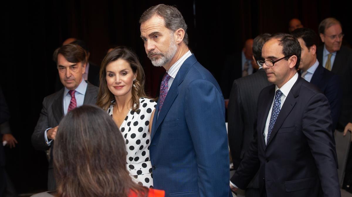 Trump recibe a los reyes de espa a en la casa blanca - Casa de los reyes de espana ...