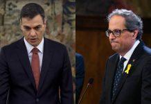 Pedro Sánchez no se opondrá a que Quim Torra reactive la propaganda nacionalista en todo el mundo