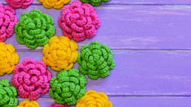 Como Hacer Flores De Ganchillo Noticiero Universal - Flores-ganchillo