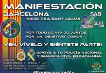 La manifestación dará comienzo a las 12:00h desde la Plaza Sant Jaume de Barcelona.