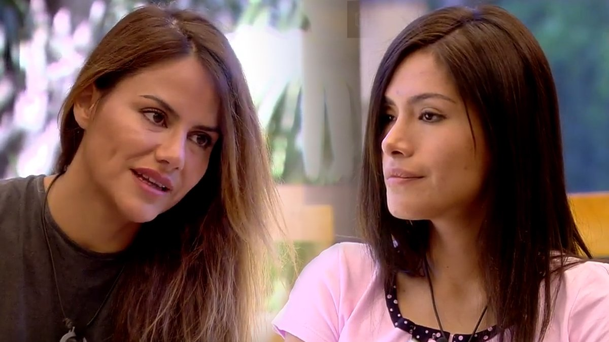 56b462b67 GH VIP 6   Miriam Saavedra y Mónica Hoyos cumplen el reto de Jorge ...