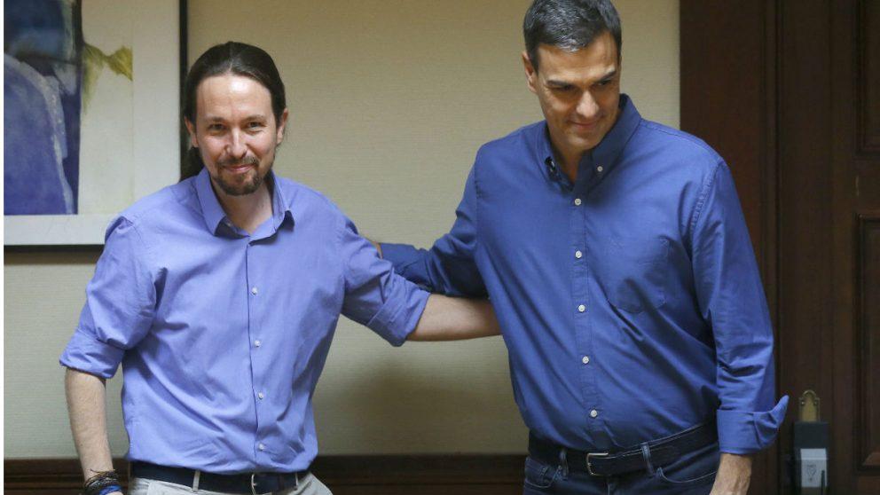 Pablo Iglesias y Pedro Sánchez son nuevos políticos que han dado su